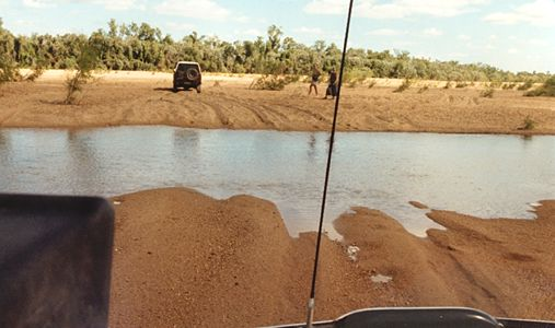 Cape York Queensland river crossing